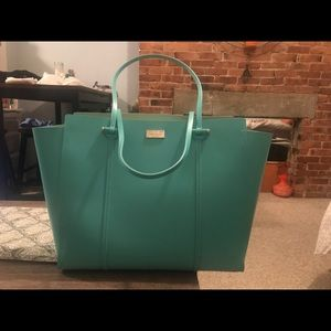 Brand new Kate Spade large tote in teal